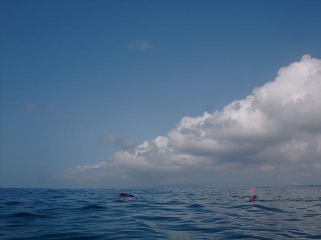 沖縄、初ダイビング