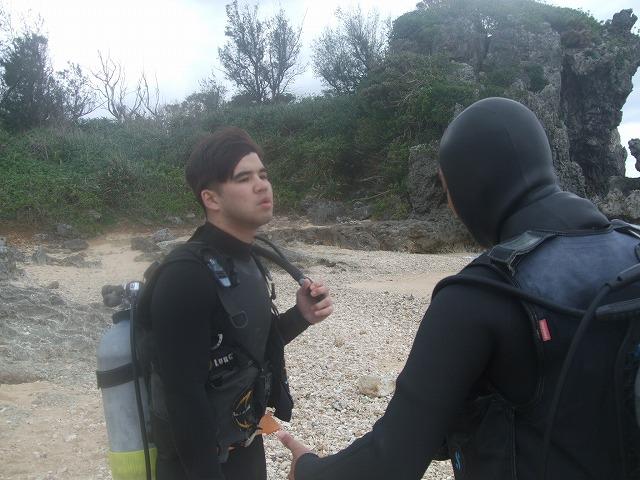 ダリ、オープンウォーター認定!次は潜水士試験へ...