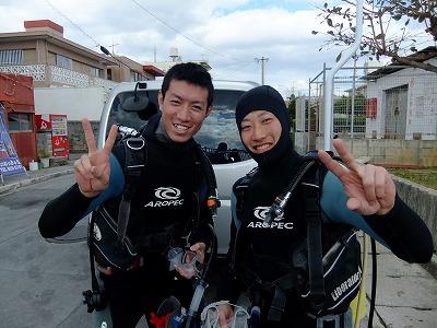 沖縄ゲストハウス チェックイン はらちゃん にしちゃん