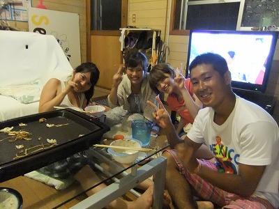 特製お好み焼き&焼きそばパーティー マサル カナちゃんアヤちゃんケイコちゃん