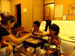 ゆんたく(たこ焼きパーティー) in 沖縄
