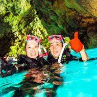 ダイビングショップシーモールが提供する青の洞窟シュノーケリング