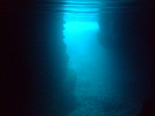 青の洞窟!!!!